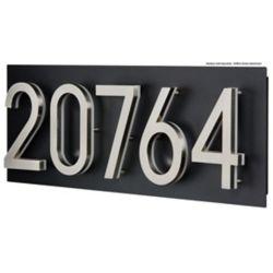 PRO-DF Address Plaque for LED Backlit Numbers - Large