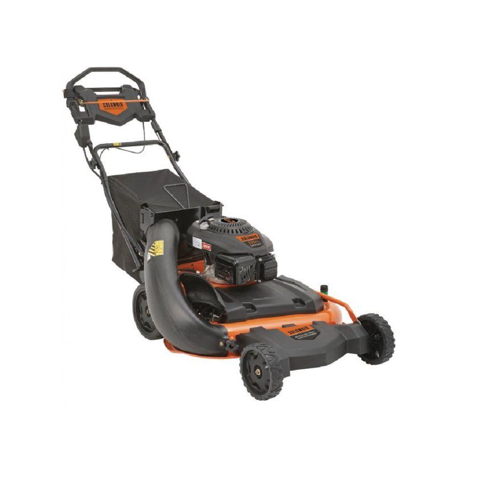 28-inch 195cc Wide Cut Self-Propelled Lawn Mower
