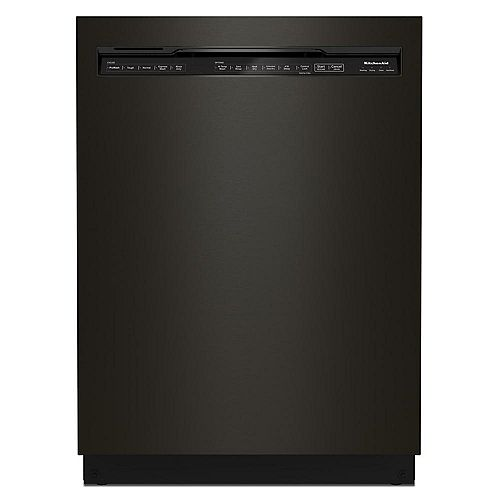 KitchenAid Front Control Dishwasher with Third Level Rack in Black  Stainless Steel, 44 dBA - ENERGY STAR®