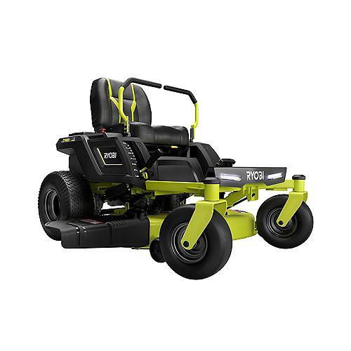 RYOBI 42-inch 100 Ah Battery Electric Zero Turn Riding Mower