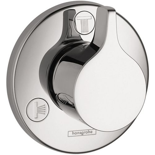 Hansgrohe Ecostat 1-Handle Diverter Trim S/E Trio/Quattro in Chrome (Valve Sold Separately)