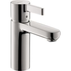 Hansgrohe Metris S Single Hole 1-Handle Bathroom Faucet in Chrome without Pop-Up