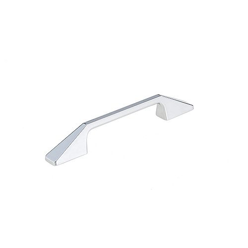 Richelieu 5 1/16-inch (128 mm) Center-to-Center Chrome Contemporary Cabinet Pull