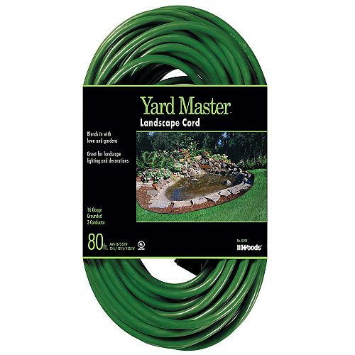Southwire 16/3 SJTW 80 Green Outdoor Extension Cord