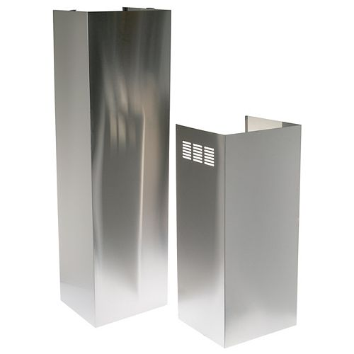 18-inch W 12 ft. Duct Cover in Stainless Steel