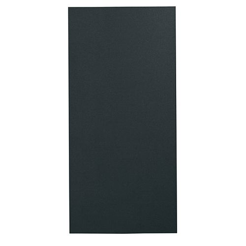GE Duct Cover Extension Kit in Matte Black