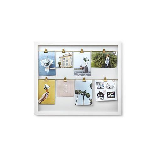Umbra Clipline Photo Display White