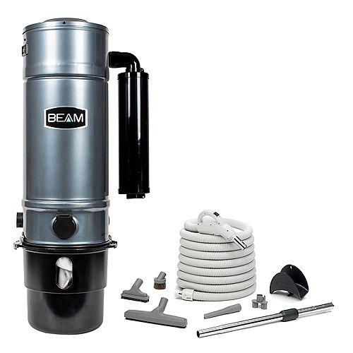 BEAM 650 Airwatt Central Vacuum Hard Floor Kit Classic 000321, Sound Off muf, dual volt hose kit