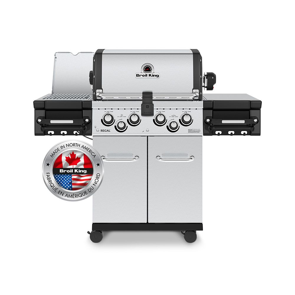 Broil King Regal S490 Pro IR 4 Burner 50,000 BTU NG Gas Grill 956947
