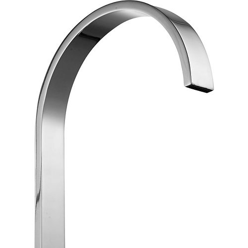 ANZZI Sabre 8-inch Widespread 2-Handle High-Arc Bathroom Faucet in Polished Chrome