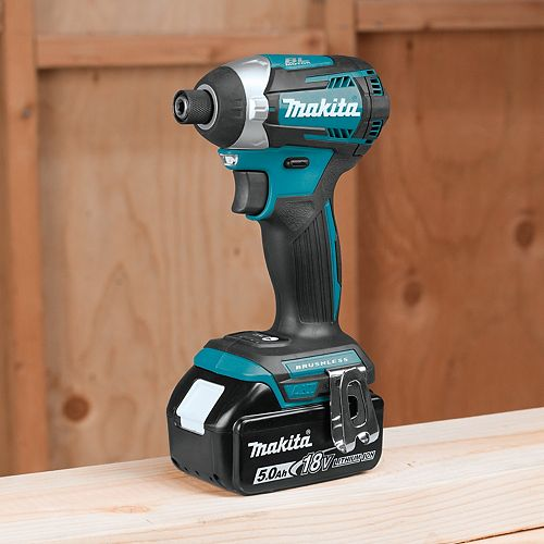 "MAKITA 1/4"" Cordless Impact Driver, 18V Brushless (Tool Only)"
