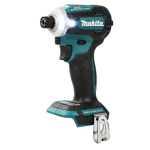 "MAKITA 1/4"" Cordless Impact Driver, 18V Brushless Motor (Tool Only)"