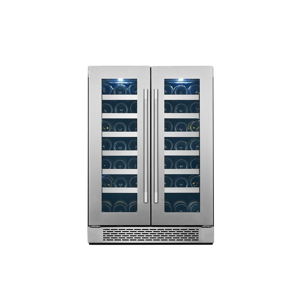 AVG AVG 21-bottle Wine cellar and 60-cans beverage center - Dual zone