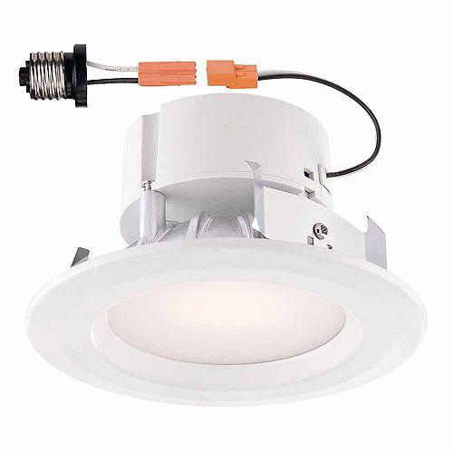 Envirolite White Recessed LED Trim - 4 inch