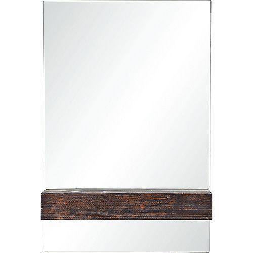 Notre Dame Design Kai Dark Brown Decorative Mirror