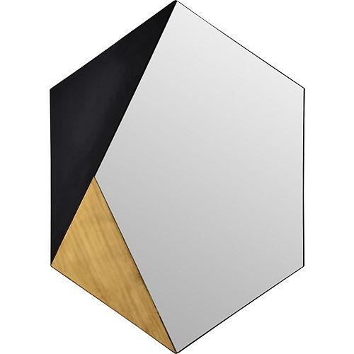 Notre Dame Design Cade Hexagonal  Decorative Mirror