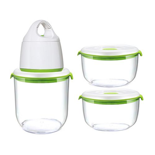 FOSA Madrid Collection Vacuum Food Storage System Standard Set