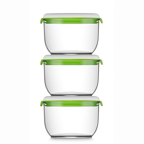 FOSA Madrid Collection Vacuum Food Storage System Additional Container Set C