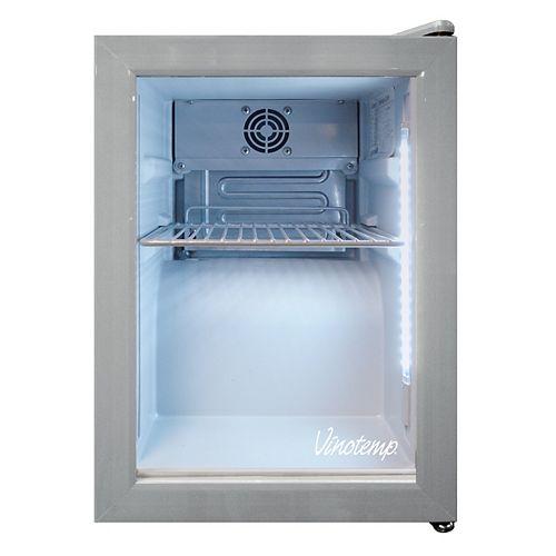 Vinotemp Réfrigérateur à présentoir de 24 po (12 oz) pour comptoir de boissons