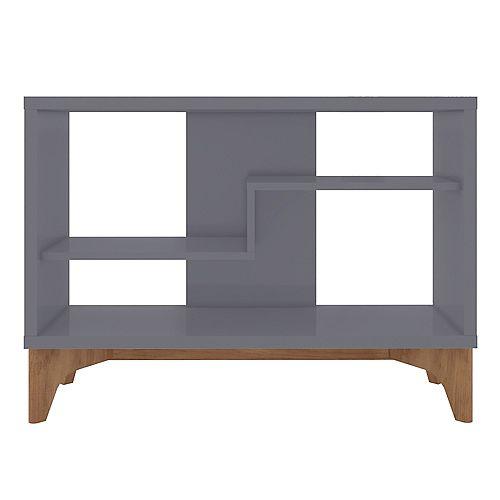 Manhattan Comfort Gowanus Accent Display Sideboard in Grey