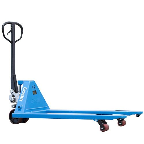 Eoslift USA Corporation 5,500 lbs. 27 in. x 48 in. Manual Pallet Truck German Seal System with Polyurethane Wheels