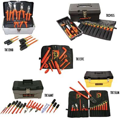 1000V Electrical Insulated Tool Kit for Hybrid Vehicles and Hand Tool Kits_1