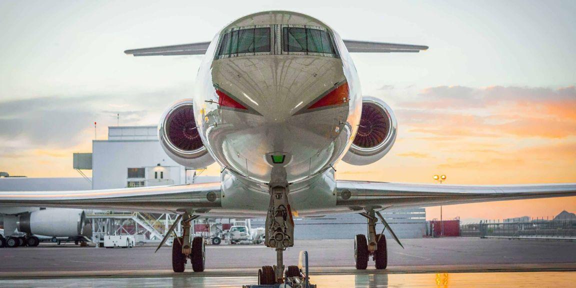 Honeywell G550  engine  tail  wingtip  hangar  maintenance  HAPP  MPP