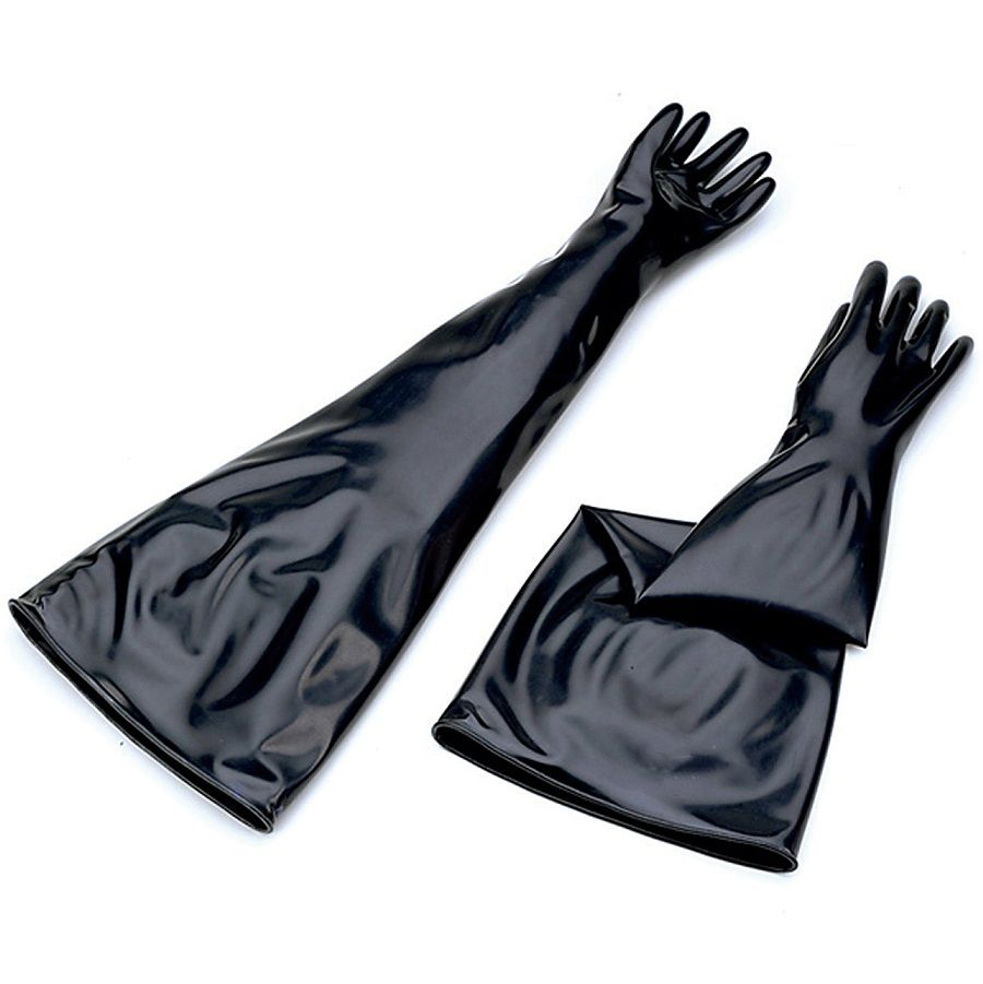 Butyl Glovebox Gloves - 8B3032A