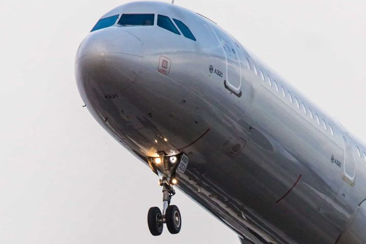 Airliner Taking Off