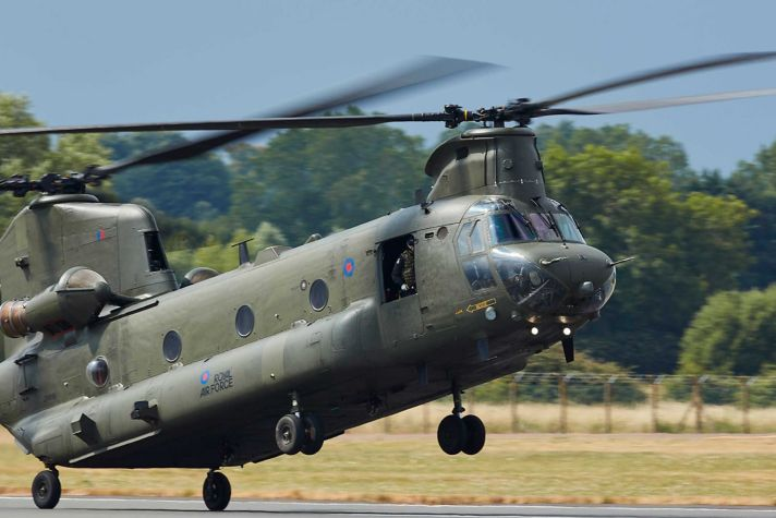 RIAT 2018   Boeing CH 47 Chinook