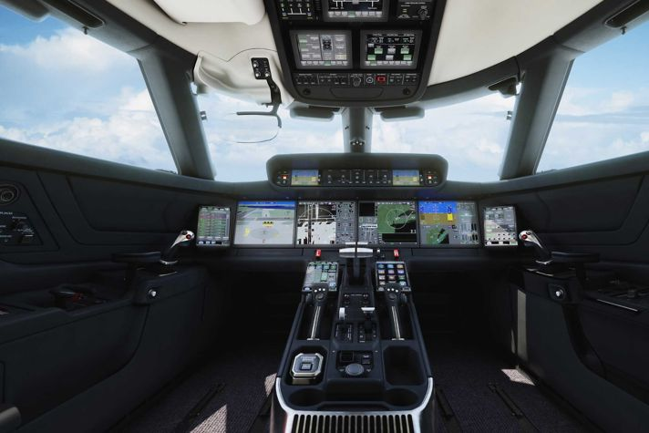 Gulfstream Symmetry Flight Deck