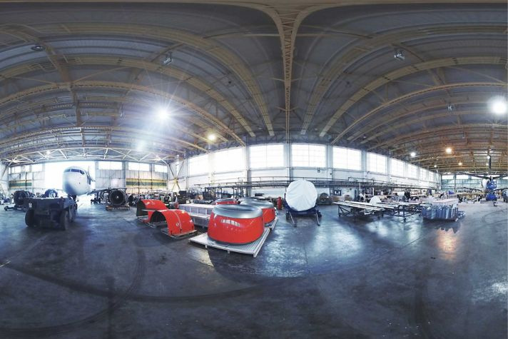 Honeywell eCube Hangar