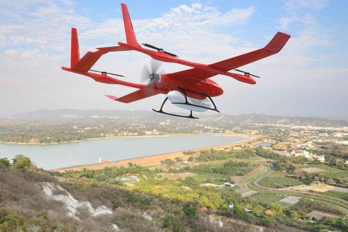 Light UAV Rural Flight