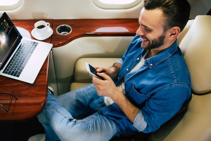 WiFi in Business Aircraft