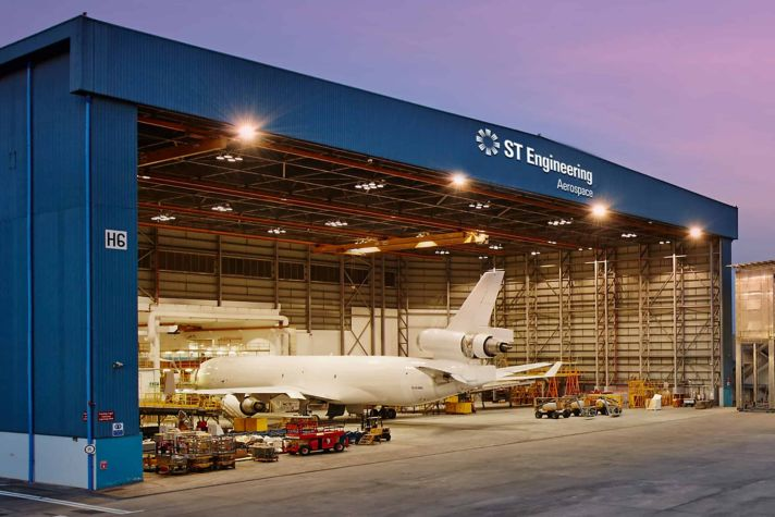 Hangar at Night