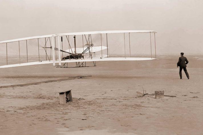 Wright First Flight