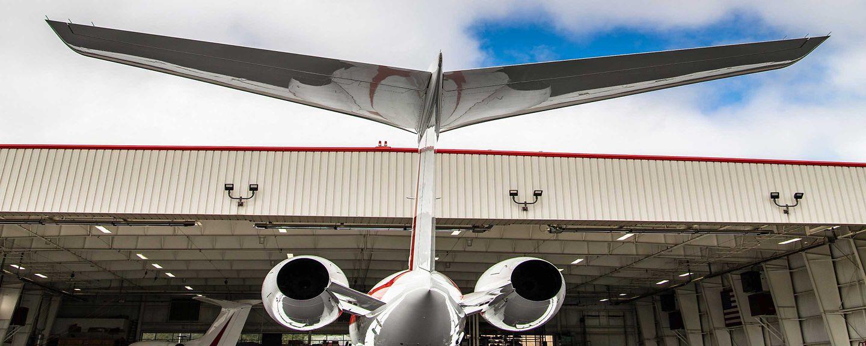 Business Jet Hangar