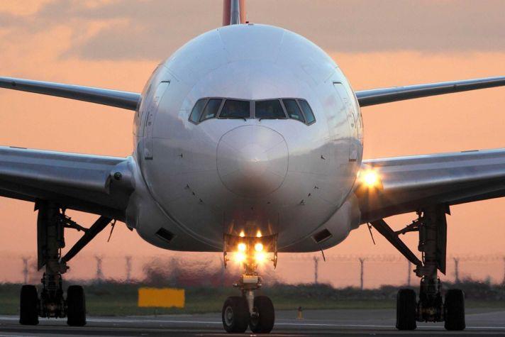 Plane on Runway Fuel