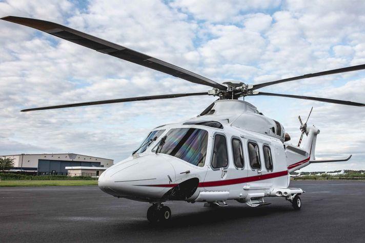 Leonardo AW139 multi-role helicopter