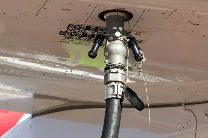 Fuelling plane Efficiency