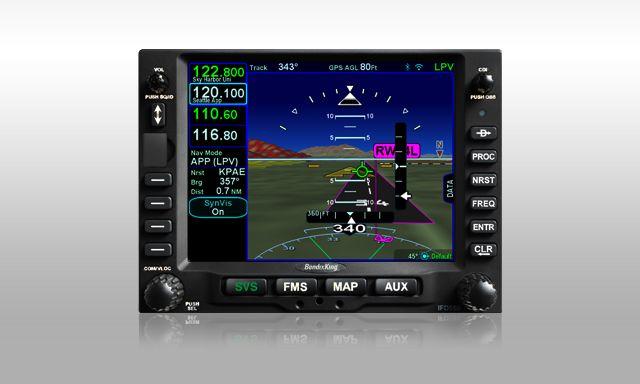 AeroNav GPS 910 Navigation