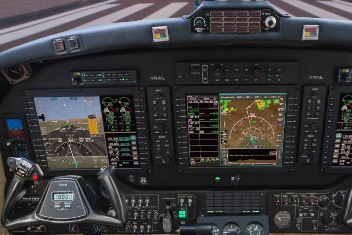 AeroVue on B200
