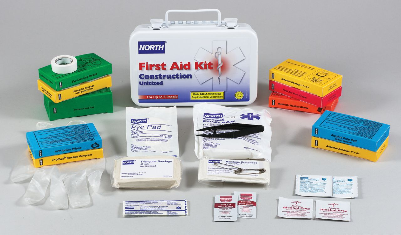 Construction Unitized First Aid Kit_4