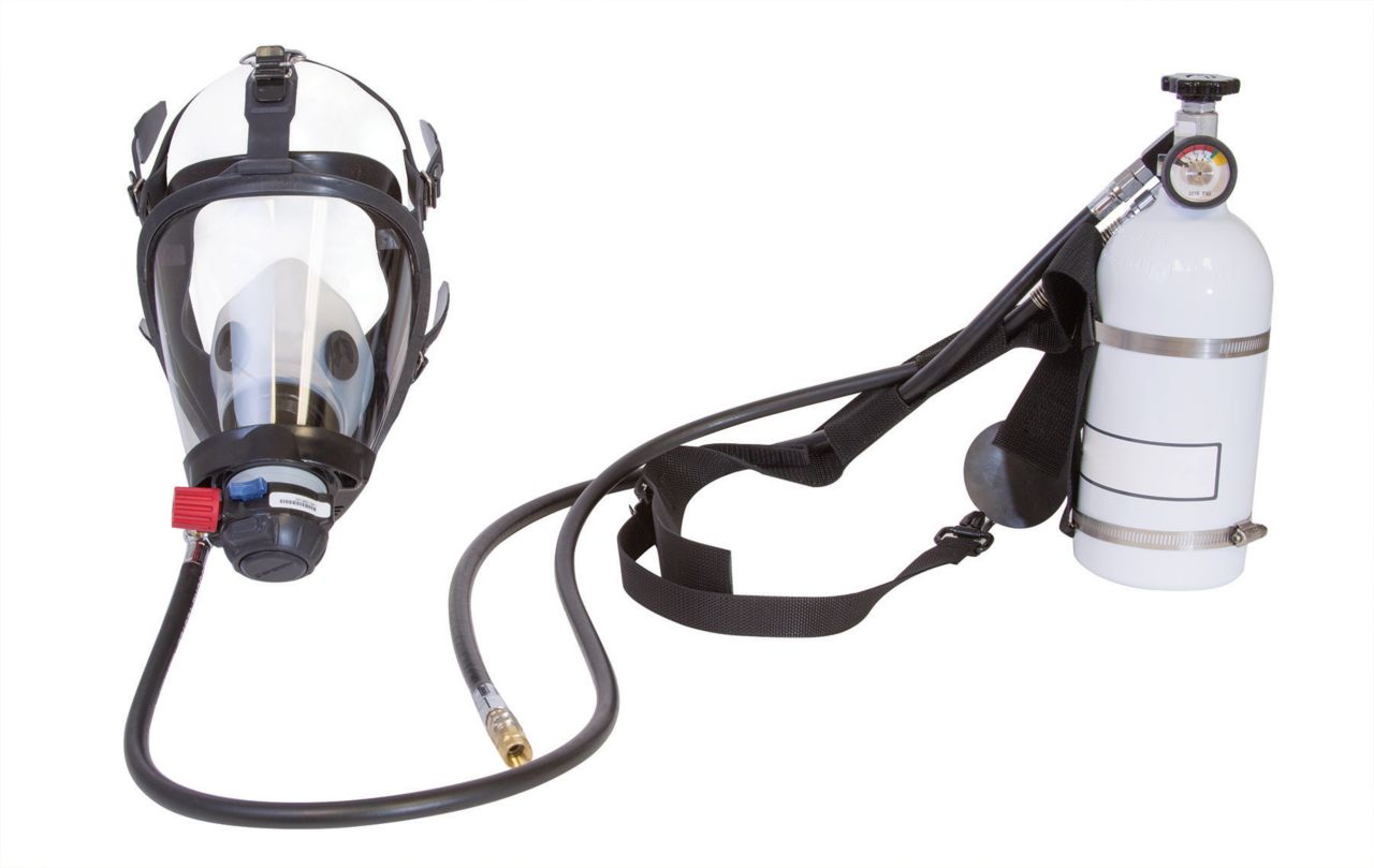 Honeywell Panther™ Pressure Demand Supplied Air Respirator (PD-SAR) Hip-Pac with Nylon Harness