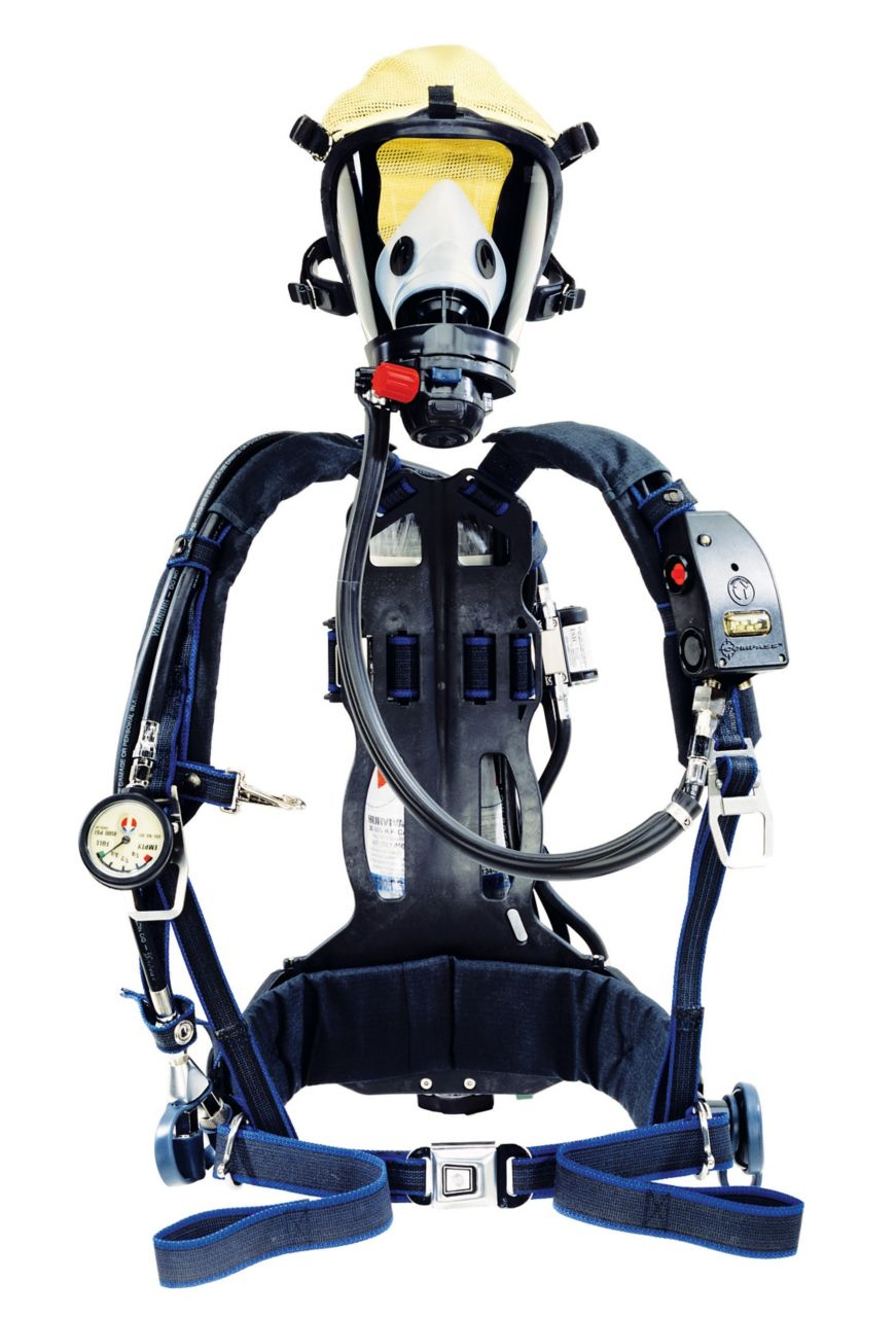 Survivair Panther Industrial SCBA (1997-style) (NIOSH)