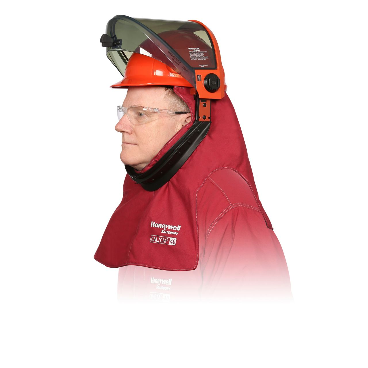 Arc Flash Lift Front Hood - 40 cal with PrismShield™_1