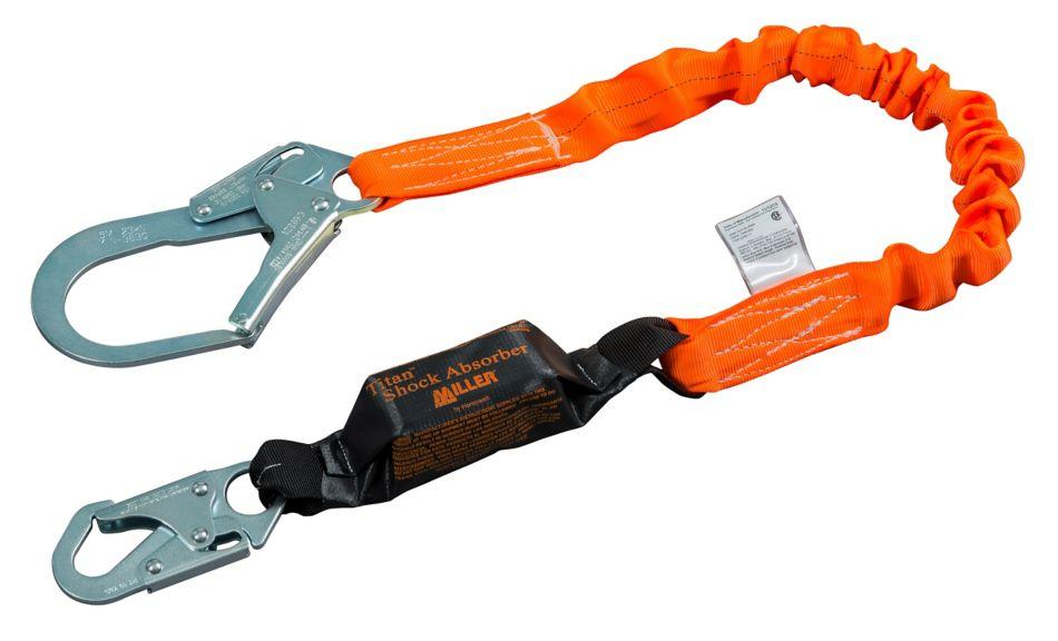 Miller Titan™ II Stretch Pack-Type Shock-Absorbing Lanyards_3