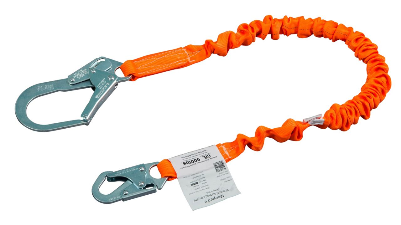 Miller Titan™ II Stretch Tubular Built-In Shock-Absorbing Lanyards_2