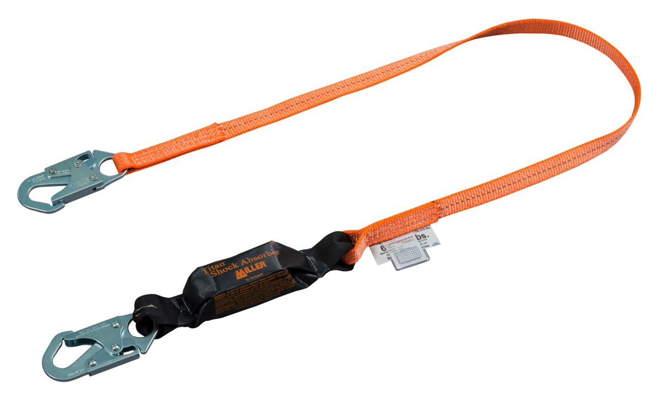 Miller Titan™ II Pack-Type Shock-Absorbing Lanyards_1