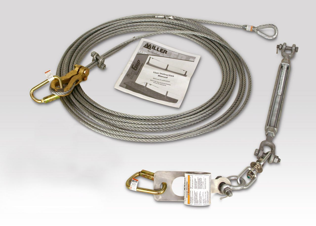 Miller SkyGrip™ Wire Rope Lifeline Kits